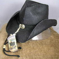 New Blue Chair Bay Kenny Chesney Toyo Natural Black Cowboy Hat S/m Photo