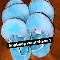 New Blue Ugg Slippers Size 7 Photo