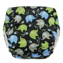 New Blueberry Basix All in One Diapers  Elephants  Medium Photo