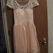 New Blush Dress With Beautiful Detail (Size Small) Photo
