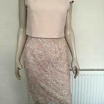 New  Blush Lace Skirt Dress Phase Eight.  Size 12. Wedd/mother of Bride Photo