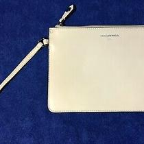 New Blush Pink Leather Karl Lagerfeld Large Wristlet Nwot Photo