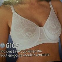 New Blush Vogue Maternity Nursing Molded Lace Cup Underwire Bra 38d 6107 Photo