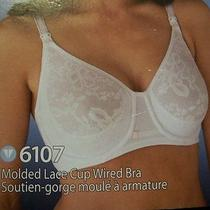 New Blush Vogue Maternity Nursing Molded Lace Cup Underwire Bra 40dd 6107 Photo