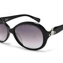 New Bnwc Rrp145 Vivienne Westwood Vw69001 Diamante Silver Orb Sunglasses Black Photo