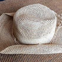 New Boston Proper Mar Y Sol Anthropologie Straw Woven Cowgirl Hat Nwt Photo