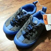 New Boy Crocs Dawson Sneaker Size 9 Graphite/navy  Photo