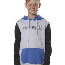New Boys Hurley Kids One and Only Colour Block Pop Hood Fleece Photo