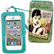 New Breakfast at Tiffany's Audrey Hepburn Phone Wristlet- Wallet & Cell Holder Photo