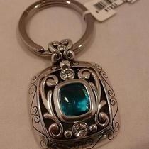 New Brighton Azure Blue Key Chain Ring Fob E14560  Photo