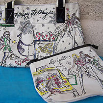 New Brighton Holiday City Tote and Cosmetic Bag Photo
