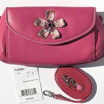 New Brighton Marvels Violet/hot Pink Lg Wallet Evening Bag Crossbody Purse 120  Photo