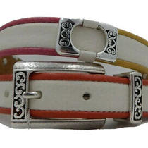 New Brighton Metro Chic Leather Belt  Size 32  Nwt  B31182 Photo
