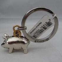 New Brighton Pig Piggy Bank With Coin 3d  Metal   Sign Key Chain Ring E14860 Photo
