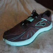 New Brooks Pure Grit Womans Lightweight Running Shoes Chocolate W/aqua Sz 8 1/2 Photo