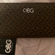 New Brown Clutch Gbg (G by Guess) Los Angeles Zip Wallet Photo