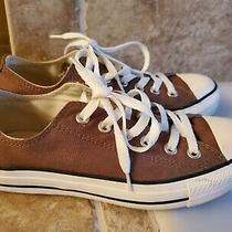 New Brown Converse Sneakers Shoes  Size Men Us 5 Women Size 7 Unisex Photo