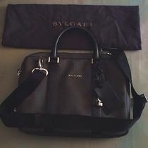 New Bulgari Laptop Shoulder Bag W/ Storage Bag & Coa Retails for 1530 Photo