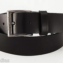 New Burberry Belt Cleydon Chocolate 42-44 (110) With Gift Box and Dust Bag 195 Photo