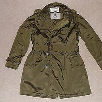 New Burberry  Double Padded Unisex Trench Coat. Photo