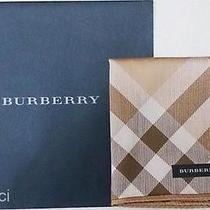 New Burberry License in Japan Tan Tartan Cotton Handkerchief Mini Scarf Photo