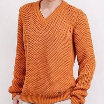 New Burberry London Men's 795 Cable Knit Sweaters Photo