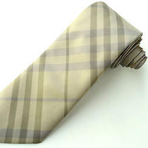New Burberry Silk Tie -New With Tags Eaton Photo