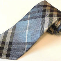 New Burberry Silk Tie -New With Tags Regent Photo