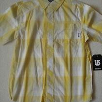 New Burton Boys Youth Formal Short Sleeve Woven Butoon Up Shirt  Photo