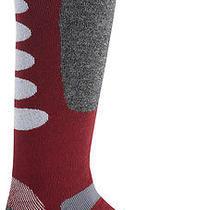 New  Burton Buffer Ii Snowboard Sock - Crimson  Medium Photo