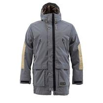 New Burton Faceshot Snow Jacket Ballpoint/ Burlap Men's Large Photo
