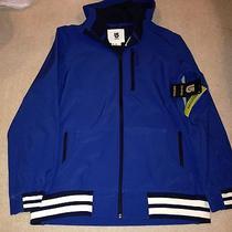 New Burton Mb Ss Softshell Blue Hoodie Jacket Size M Mens Nwt Photo