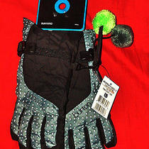 New Burton Snow Board Womens Sz Xs Flint Dot .com Approach Under Ski Gloves Nwt Photo