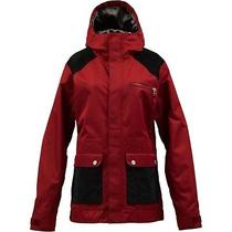 New Burton Snow Jacket Aster Biking Red Women's Small Photo