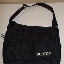 New Burton Snowboard Laptop Computer Messenger Shoulder Bike Bag Black Padded Photo