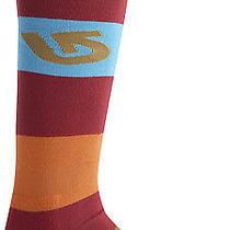 New  Burton Tailgate Snowboard Sock - Crimson  Medium Photo