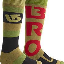 New  Burton Weekender Two-Pack Snowboard Sock - Falcon  Medium Photo