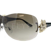 New Bvlgari Bv 6064b 278 13 Black Gold Grey Sunglasses Photo