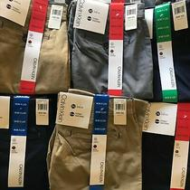 New Calvin Klein Mens Stretch Flexible Waistband Pants Size Color Variety Photo