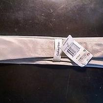 New Calvin Klein Salt Pepper Solid Ii Tie With Tags 756500888661 Photo