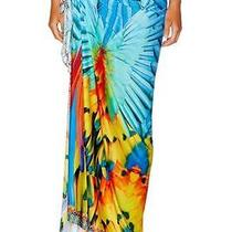 New Camilla Franks Flightful Long Sarong Dress  Cape Photo