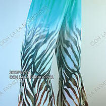 New Camilla Franks Kaftan Designer Flare Embellished Savannah Maxi Pants Sz 1  Photo