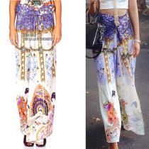 New Camilla Franks Kaftan Designer Rp 649 Boho  Flare Maxi Pants - Summer Sale Photo