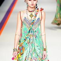 New Camilla Franks Silk Swarovski Nirvana Endless Summer Dress Kaftan Photo