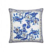 New Camilla Franks Silk Swarovski Ring of Roses Large Cushion / Kaftan Photo