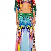 New Camilla Franks Silk Swarovski the Rites of Tropicana Skirt Kaftan  Photo