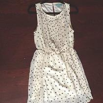 New Camilla Tree Black and White Polka Dot Dress With Pleats Photo