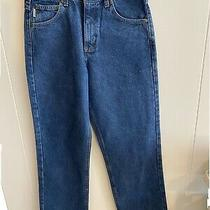 New Carhartt B160 Dst Relaxed Fit Men's Blue Denim Jeans 30x32 Work Construction Photo
