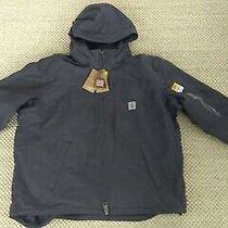 New Carhartt Full Swing Cryder Jacket Gray Size Xxl  Photo
