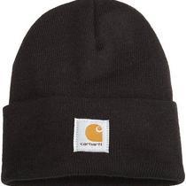 New Carhartt Mens Acrylic Watch Hat  Black  One Size Photo